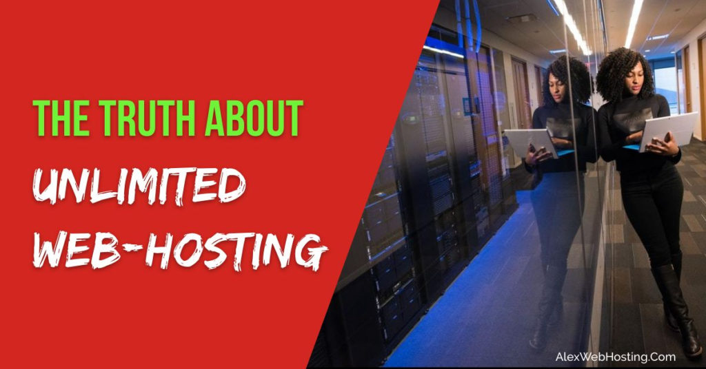 unlimited web hosting truth