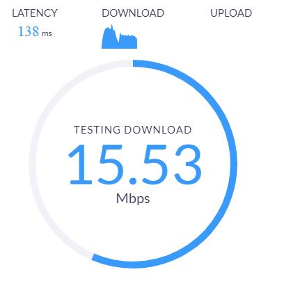 internet upload speed